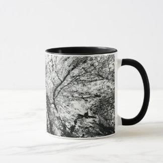 Maple Tree Inkblot Photograph Mug