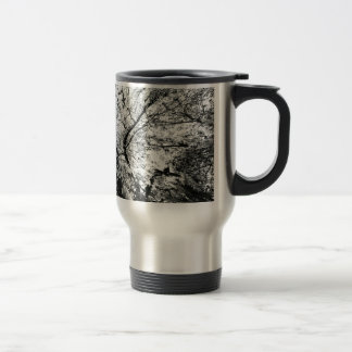 Maple Tree Inkblot Photograph Travel Mug