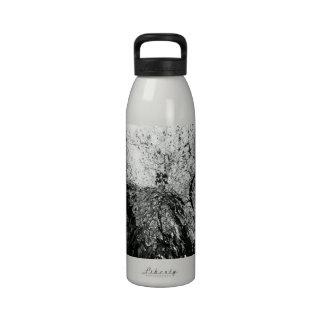 Maple Tree Inkblot Photograph Drinking Bottles