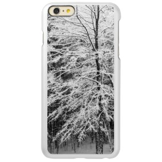 Maple Tree Outlined In Snow Case Incipio Feather® Shine iPhone 6 Plus Case