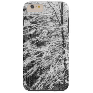 Maple Tree Outlined In Snow iPhone 6 Plus Case