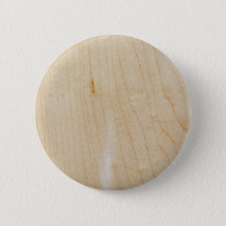 Maple wood pinback button