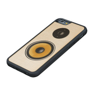 """Maple Wood """"Speaker Effect"""" iPhone Case Carved® Maple iPhone 6 Bumper Case"""