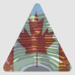 MapleLeaf: Representación de valores canadienses Colcomanias Trianguladas