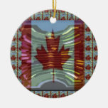 MapleLeaf : Representing Proud Canadian Values Ornament