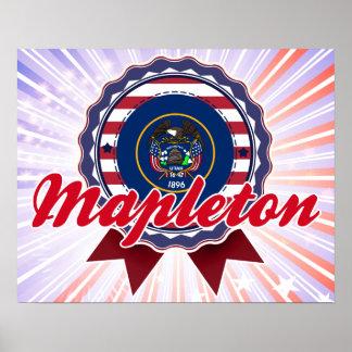 Mapleton, UT Print
