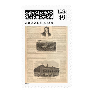 Maplewood Music Seminary for Ladies Postage Stamps
