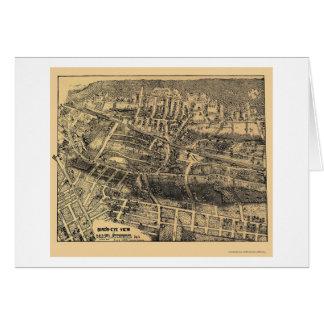 Maplewood NJ Panoramic Map - 1910 Card
