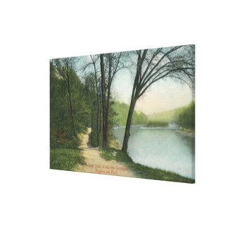 Maplewood Park Indian Trail Canvas Print