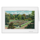 Maplewood Park Rose Garden View Card