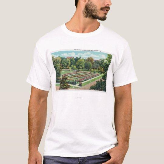 Maplewood Park Rose Garden View T-Shirt