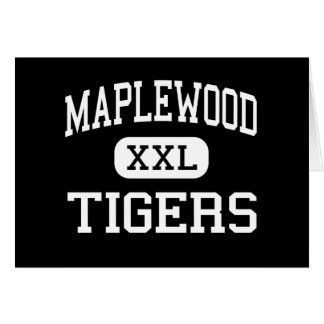 Maplewood - Tigers - High - Guys Mills Cards