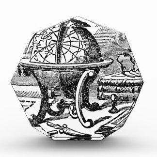 Mapmaker's Desk - Globes Acrylic Award