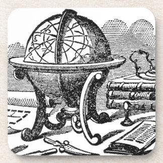 Mapmaker's Desk - Globes Coaster