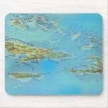 Mapology del Caribe Tapete De Ratón