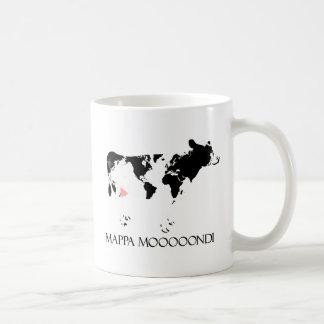 Mappa Mooooondi Classic White Coffee Mug