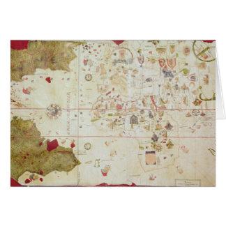 Mappa Mundi, 1502 Greeting Card