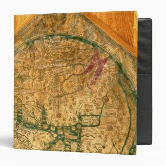 "Mappa Mundi, c.1290 Carpeta 1 1/2"""