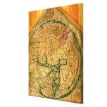 Mappa Mundi, c.1290 Impresiones En Lienzo Estiradas