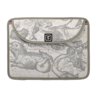 Mappe of the Constellations with Zodiacal Signs MacBook Pro Sleeve