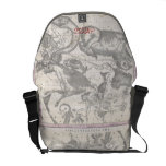 Mappe of the Constellations with Zodiacal Signs Courier Bag