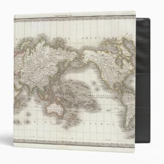 """Mappemonde - mapa del globo carpeta 1 1/2"""""""