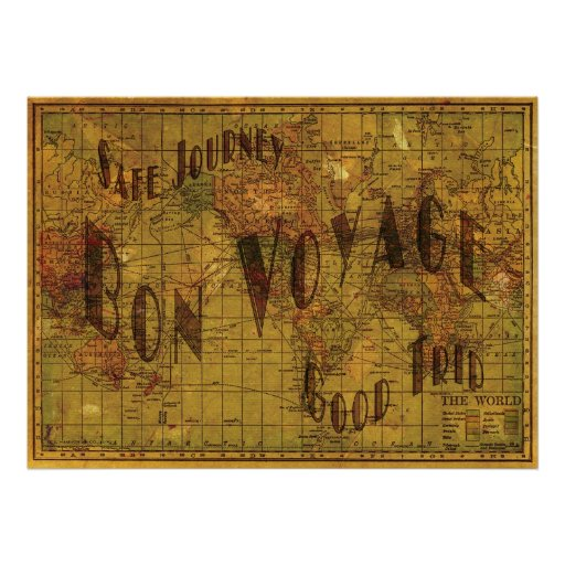 Mapping My Travels Print Print