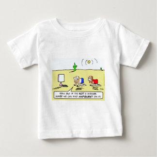 mapquest computer desert mirage baby T-Shirt