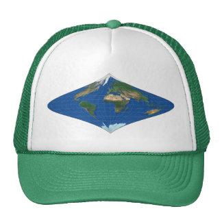 MapRef World Curved Rhombus Trucker Hat