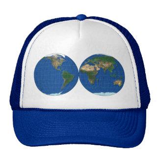 MapRef World double Sphere Trucker Hat