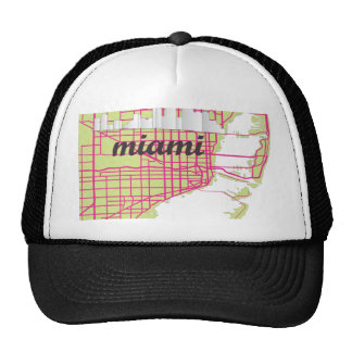 maps Miami Trucker Hat