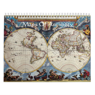Maps Of Antiquity Calendar