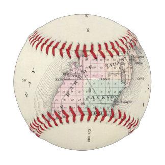 Maps of Door County, Sturgeon Bay and Jenny Baseball