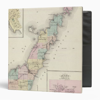 Maps of Door County, Sturgeon Bay and Jenny Binder