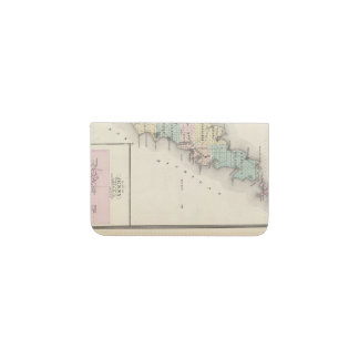 Maps of Door County, Sturgeon Bay and Jenny Business Card Holder