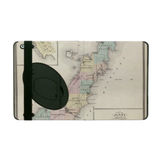 Maps of Door County, Sturgeon Bay and Jenny iPad Covers