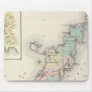 Maps of Door County, Sturgeon Bay and Jenny Mouse Pad