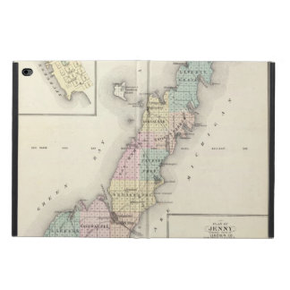Maps of Door County, Sturgeon Bay and Jenny Powis iPad Air 2 Case