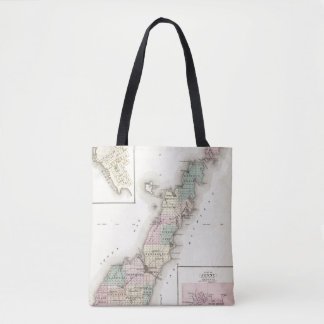 Maps of Door County, Sturgeon Bay and Jenny Tote Bag