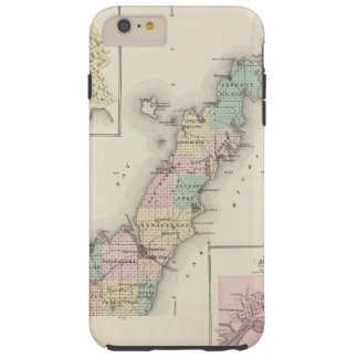 Maps of Door County, Sturgeon Bay and Jenny Tough iPhone 6 Plus Case