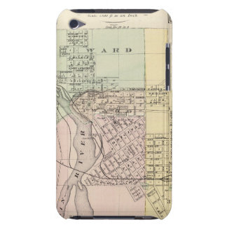 Maps of Stevens Point, Elroy and Wonewoc iPod Touch Cover