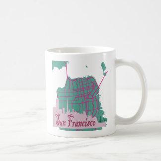 maps San Francisco Coffee Mug
