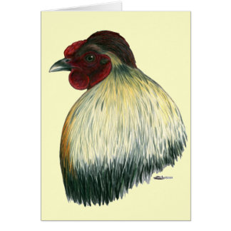Mapuche Huastec Rooster Card