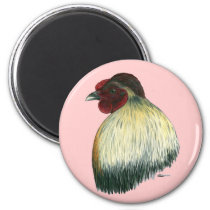 Mapuche Huastec Rooster Magnet