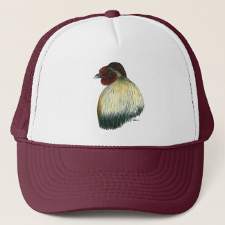 Mapuche Huastec Rooster Trucker Hat