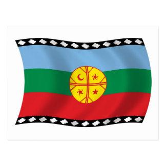 Mapuches Flag Postcard