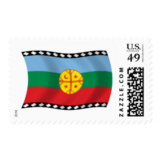 Mapuches Flag Stamps