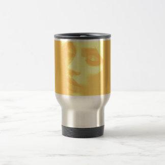 maquillaje de la belleza cremoso taza térmica