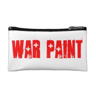 Maquillaje de la pintura de guerra