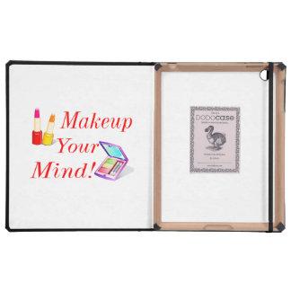 ¡Maquillaje su mente! iPad Protector